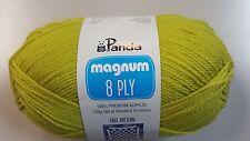 Panda Magnum #2025 Acid Green 8 Ply 100g Acrylic