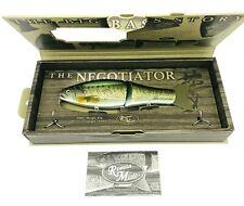 Roman Made Negotiator Premium Swimbait / Glide Bait - Bass Color