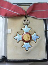 ENGLAND ORDER OF THE BRITISH EMPIRE COMMANDER,medal superb quality,case of issue