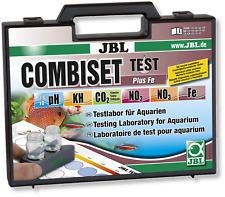 Jbl Prueba Combi Set Plus Fe Combiset Kit Ph Kh caso de laboratorio de hierro nitrito de nitrato