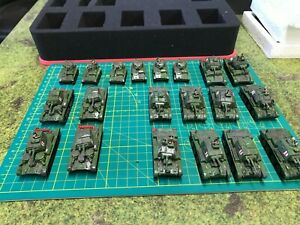 Flames of War Painted Early War British Tanks FOW 15mm WWII EW Armor! Lot of 20!