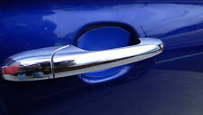 GLOSS BLUE AUTO ACCESSORY CAR DOOR HANDLE SCRATCH COVER GUARD PROTECTOR 4PK NEW