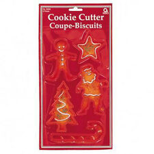 CHRISTMAS Cookie Cutters Biscuit cutters ANGEL STAR TREE BELL STOCKING Xmas