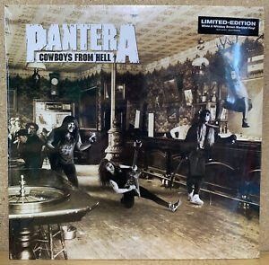 Pantera Cowboys From Hell - WHITE & WHISKEY BROWN MARBLED VINYL Vinyl (New)