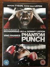 Ving Rhames AS SONNY LISTON Vs Muhammad Ali in Phantom Punch de Boxe Film GB DVD