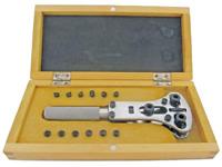 Clé ouvrir fonds de montres Facon Jaxa avec coffret bois- Key Watch case opener-
