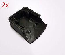 2x Hitachi 18V battery holders mounts brackets storage