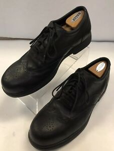 Red Wing Shoes Wingtip Brogue Oxfords 11.5 D Steel Toe 6665 ASTMF 2413-05 Black