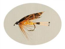 Moscas de pesca naranja