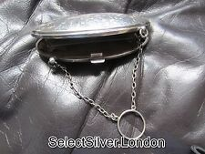 Antique Solid Sterling Silver Purse made by Samuel M Levi in 1916