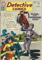 """DC Comic Detective Comics No. 307 1962 featuring Batman vs. """"Alpha"""" VG+"""