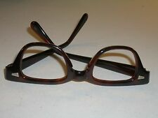 Beautiful 1980/'s Women/'s Day Green /& Clear Large Eyeglass Frame NOS Classy 57-12