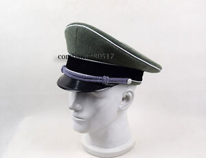 WWII German Elite Officer Hat Officer Army Cap 57 58 59 60cm