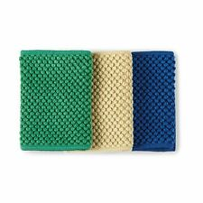 NORWEX Countercloth set of 3 with Baclock navy green and gold