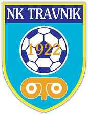 "NK Travnik FC Bosnia Football Soccer Car Bumper Sticker Decal 4""X5"""