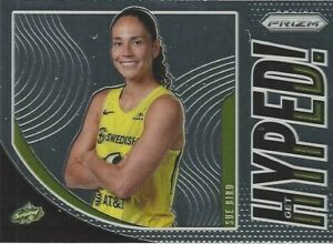 2020 WNBA PANINI PRIZM * SUE BIRD * GET HYPED * INSERT CARD #5 STORM UCONN