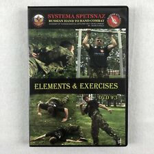 SYSTEMA SPETSNAZ DVD #3 - RUSSIAN MARTIAL ARTS VIDEO Elements and Exercises MMA