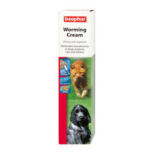 Beaphar Worming Cream for Dogs Puppies Cats and Kittens Kills Roundworms