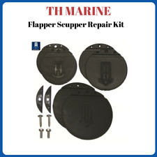 TH Marine Boat Flapper Scupper Repair Kit FSRK-1-DP Replacement Flappers
