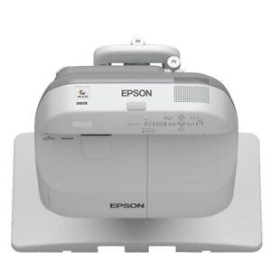 Epson EB-685W Ultra Short Throw Multimedia Projector 3500 LUMENs HDMI + REMOTE