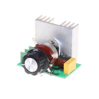 AC 220V 3800W SCR Voltage Regulator Dimmers Dimming Speed Thermostat Contro N WK