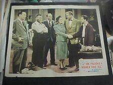 WINNER TAKE ALL, orig 1948 LC #8 [Joe Kirkwood Jr. as Joe Palooka]