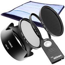 ACCESSORI FILTRO Set 67mm trigger a distanza è adatto a Nikon d5300 d3300 18-105 -140 KIT