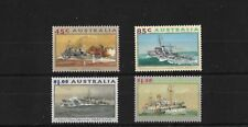 AUSTRALIA SG1397/1400, 1993 WWII NAVAL SHIPS MNH