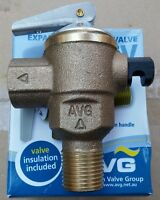 New AVG Expansion Control Valve ECV 15mm 700kpa Solar Hot Water Cold TPR PTR