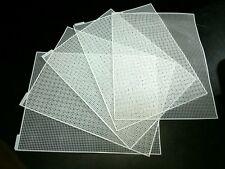 Plastic cross stitch net
