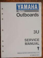 YAMAHA OUTBOARD SERVICE MANUAL 3HP 3U LIT-18616-01-32 MOTORS ENGINES MARINE BOAT