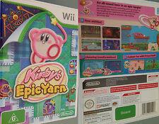 Wii Spiel Kirbys EpicYarn Kirby und das magische Garn Kirby´s Epic Yarn DEUTSCH