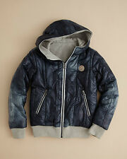 Diesel Jachio Boy's Blue 4 Years Reversible Zip Hoodie Jacket Sold Out