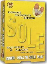 Natural Herbal Circulation Energy Health Tourmaline Detox Inner Sole Foot Pads