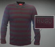 NWT HUGO (Hugo Boss Red Label) by Hugo Boss Long Sleeved Striped Polo Shirt XXL