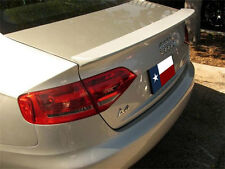 Audi A4 2009+ Lip Mount Factory Style Rear Spoiler Primer Finish Made in the USA