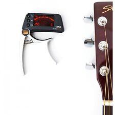 Clip alla chitarra Accordatore and Capotasto Cromatica Acustico/Basso Studio