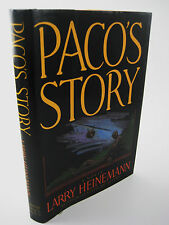 1st/1st Printing PACO'S STORY Larry Heinemann NATIONAL BOOK AWARD Rare CLASSIC