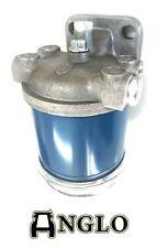 "Single Fuel Filter Assembly CAV Bowl 1/2"" UNF Tractor MF Ferguson CASE FORD IH"