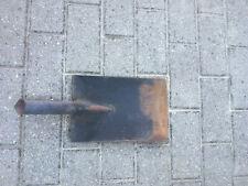 Stahlspatenblatt Gartenschaufel Gärtnerspaten ohne Stiel angerostet gebraucht