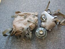 Desert Storm Iraqi Army officer Leaning Tower Ii Iraqi made gas mask with filter