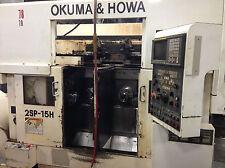 cnc metalworking lathe ebay rh ebay com Okuma Howa Parts Okuma Howa Parts