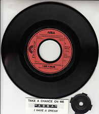 """ABBA  I Have A Dream & Take A Chance On Me (Live) PICTURE SLEEVE 7"""" 45 BRAND NEW"""