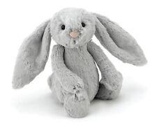 Jellycat Bashful Bunny Silver Grey Medium Plush Rabbit 30cm