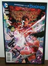 SUPERMAN WONDER WOMAN NEW 52 #10 NEAR MINT 2014 UNREAD COPY #R-790