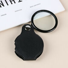 Tool Foldable Eye Glass Lens Portable Pocket Loupe Jewelry Magnifier