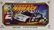NASCAR, License Plate Clock, #2 Rusty Wallace, Winner, New