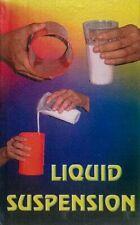 LIQUID SUSPENSION Tube Plastic Glass Cup Stage Magic Trick Milk Chen Lee Water