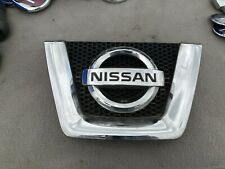 GRILLE FITS NISSAN QASHQAI 2007 2008 2009 2010 WITH CHROME MOULDING
