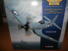 CORGI AVIATION VOUGHT F4U-1 CORSAIR WHITE 7 US NAVY 1:72